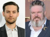 Tobey Maguire e Kristian Nairn