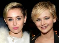 8. Miley Cyrus x Jennifer Lawrence