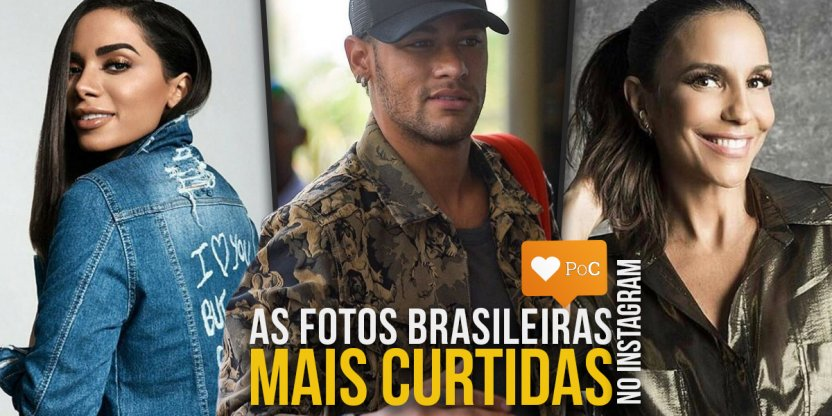 As fotos mais curtidas do Instagram Brasil