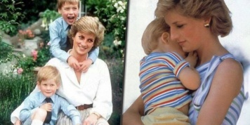 Os momentos mais ternos de Lady Diana com os príncipes Harry e William em fotos...