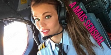 Fotos da piloto mais sensual do mundo
