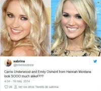 7. Carrie Underwood e Emily Osment