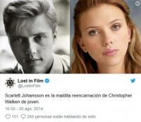 8. Scarlett Johansson e Christopher Walken